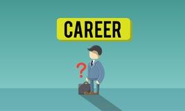 Reclutamiento Job Hiring Concept del empleo de la carrera libre illustration