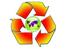 Reclye World Royalty Free Stock Photography