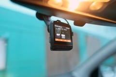 Recoder видео автомобиля Стоковое Изображение