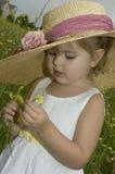 Recogedor de la flor Fotografía de archivo