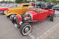 Recogida americana Ford del coche de carreras del vintage Fotografía de archivo