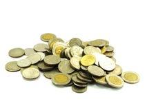 Recogida de moneda imágenes de archivo libres de regalías