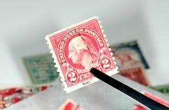 Recogida de sello fotos de archivo