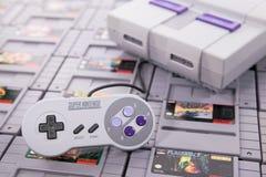 Recogida retra del videojuego imágenes de archivo libres de regalías