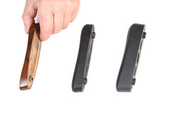 Recoil pads Stock Images