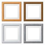 Recoja los marcos de madera Fotografía de archivo
