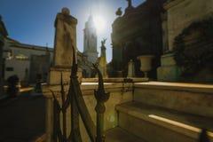 Recolet cmentarz w miastach Buenos Aires Grzebalny miejsce wiele sławni argentyńczycy Niektóre pogrzeby rozpoznają fotografia royalty free