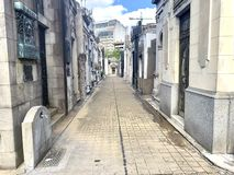 Recoleta公墓 库存照片