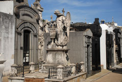 Recoleta Cemetary, Buenos Aires. royalty free stock photo