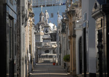 Recoleta Cemetary, Buenos Aires. royalty free stock images