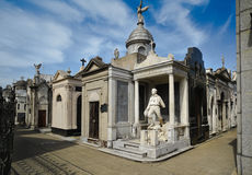 Recoleta Cemetary Royalty Free Stock Images