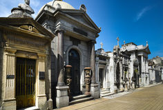 Recoleta Cemetary Royalty Free Stock Photos