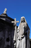 Recoleta cemetery in Buenos Aires Stock Images
