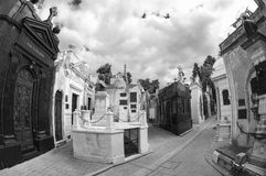 Recoleta cemetery, buenos aires, argentina Royalty Free Stock Photo