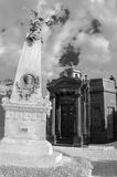 Recoleta cemetery, buenos aires, argentina Royalty Free Stock Images