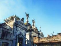 Recoleta Cemetery. Buenos Aires, Argentina stock photos