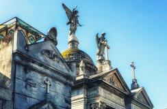 Recoleta Cemetery. Buenos Aires, Argentina stock image