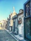 Recoleta Cemetery. Buenos Aires, Argentina royalty free stock photo