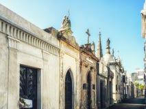 Recoleta Cemetery. Buenos Aires, Argentina stock photo