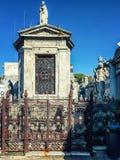 Recoleta cmentarz aires Argentina buenos Zdjęcia Royalty Free