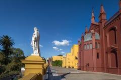 Recoleta Cultureel Centrum Centro Cultural Recoleta - Buenos aires, Argentinië royalty-vrije stock foto's