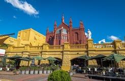 Recoleta Cultureel Centrum Centro Cultural Recoleta - Buenos aires, Argentinië royalty-vrije stock fotografie