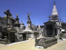 Recoleta kyrkogård i Buenos Aires - Argentina Arkivbilder