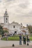 Recoleta park w Buenos Aires Argentyna fotografia royalty free
