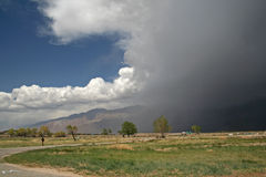 Recolhendo a tempestade Imagem de Stock Royalty Free