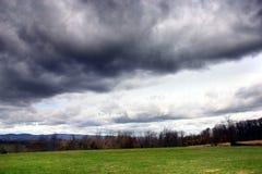 Recolhendo a tempestade Fotografia de Stock Royalty Free