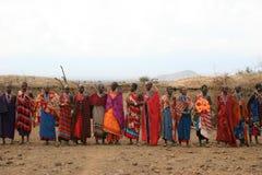 Recolhimento do tribo Foto de Stock Royalty Free
