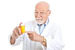 Recommandation de pharmacien Image stock