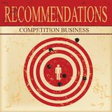 Recommendations in competition business Stock Image