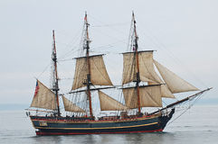 Recompensa alta da réplica do navio Fotos de Stock Royalty Free