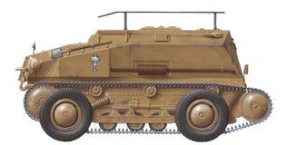 recon sdkfz 254 stock illustrationer