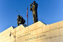 Reconciliation: The Peacekeeping Monument - Ottawa, Canada. Reconciliation: The Peacekeeping Monument in Ottawa, Canada Stock Photography