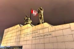 Reconciliation: The Peacekeeping Monument - Ottawa - Canada Stock Photo
