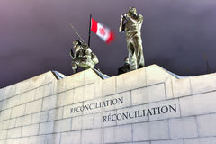 Reconciliation: The Peacekeeping Monument - Ottawa - Canada Stock Images