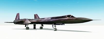 Reconnaissance Aircraft Royalty Free Stock Photo