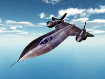 Reconnaissance Aircraft Royalty Free Stock Photography