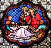 Reconnaissance de la croix vraie parmi les trois d?couverts photographie stock libre de droits