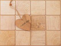 Reconocimiento del día del ` s de la tarjeta del día de San Valentín Imagen de archivo libre de regalías