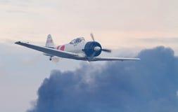 Reconstitution d'attaque de Pearl Harbor Images libres de droits