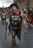 Reconstitution de Roman Legion, Rome, Italie Images libres de droits