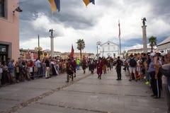 Reconstitution historique a de Palmanova d 1615 Photo libre de droits
