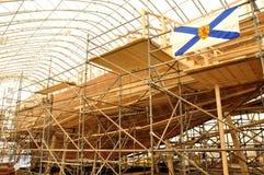 Reconstrução de Bluenose II Foto de Stock