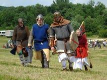 Reconstrução de uma batalha Imagem de Stock Royalty Free
