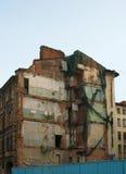 Reconstrução, demolição da casa Foto de Stock Royalty Free