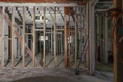 Reconstrução home Imagens de Stock Royalty Free