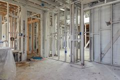 Reconstrução home Foto de Stock